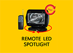 Remote LED Spotlight